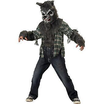 Boys Wild Werewolf Costume