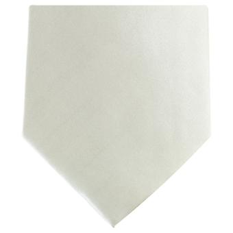 Knightsbridge Neckwear Regular Polyester Tie - Off White