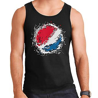 Pepsi Paint Splash Logo Men's Vest