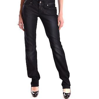 John Galliano Ezbc164025 Women's Black Denim Jeans
