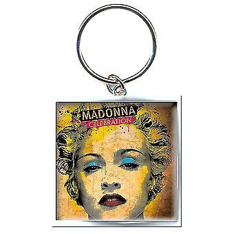 Madonna Celebration Keyring