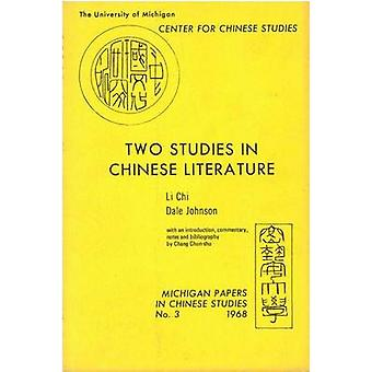 Two Studies in Chinese Literature by Chi Li - 9780892640034 Book