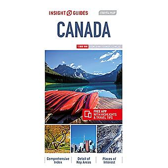 Insight Guides Travel Map Canada by Insight Guides - 9781786719232 Bo