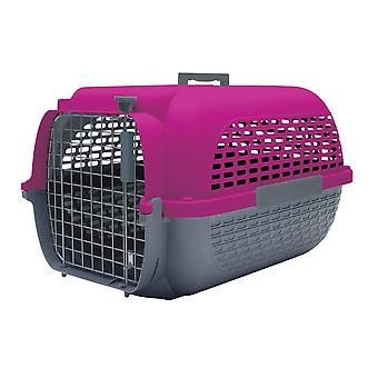 Dogit Voyageur Dog Carrier Grey/Fuchsia - Small