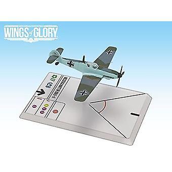 Wings of Glory WW2 Messerschmitt Bf 109 E-3 Figure