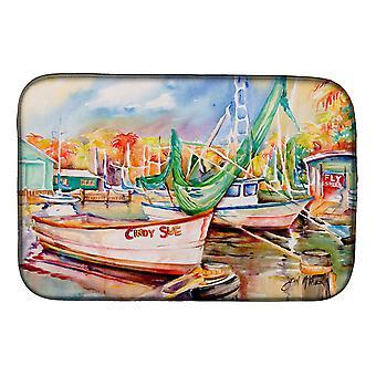 Carolines trea Sures JMK1041DDM segel båt Cindy Sue skålen torkning matta
