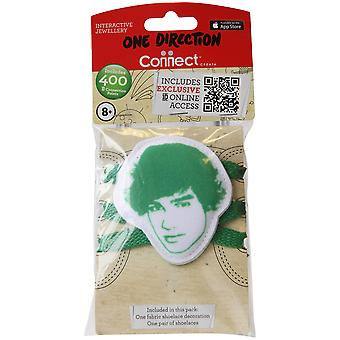 1d Fabric Shoelace Biter Liam - Green One Direction