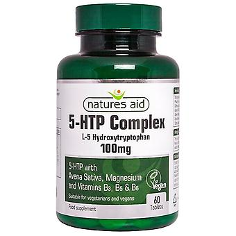 Nature's Aid 5-HTP Complex 100mg Tablets 60 (130420)