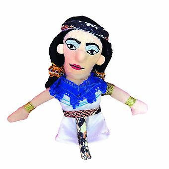 Finger Puppet - UPG - Cleopatra Soft Doll Toys Gifts Licensed New 3264