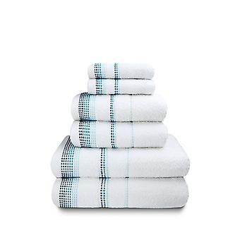 Berkley 6 Piece Ręcznik Bale Biały