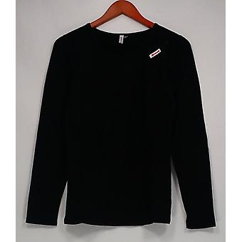 Legacy Women's Top Cuddle Me Long Sleeve T-Shirt Black A260464
