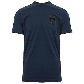 Lagerfeld Navy Logo T-Shirt