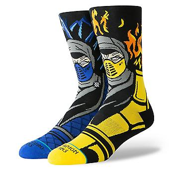 Stance stiftelse mens SOCKS ~ Sub Zero vs Scorpion (storlek L)