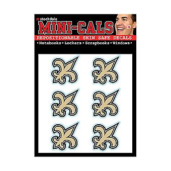 Wincraft 6 Erface tarra 3cm-NFL New Orleans Saints