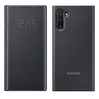 Official Samsung  LED View Flip Cover for Samsung Galaxy Note 10 - Black