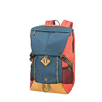American Tourister Urban Groove Lifestyle Plecak PC Port - 17.3 cali - 49.5 cm - 28 L - Multicolor (Navy/Red)