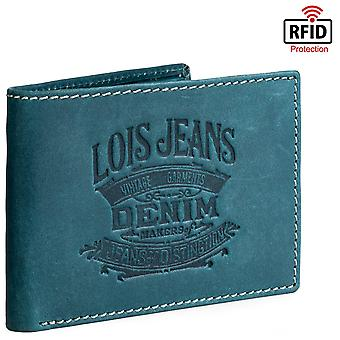 Genuine Leather Horizontal Men's Wallet Model Keel