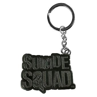 Suicide Squad Logo Metal Keychain