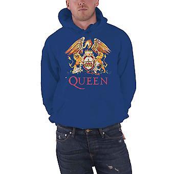 Queen Hoodie Classic Crest Band Logo nouveau pull officiel pour homme