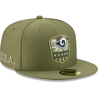 New Era 59Fifty Cap - Salute to Service NFL Los Angeles Rams