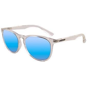 Dirty Dog Void Mirror Sunglasses - Crystal Grey/Ice Blue