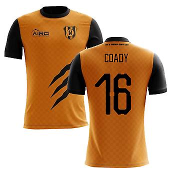 2020-2021 Wolverhampton Home Concept Football Shirt (Coady 16)