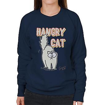 Simon's Cat Hangry Cat Women's Sweatshirt