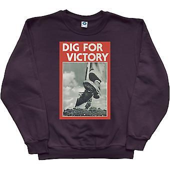 Dig For Victory Black Sweatshirt