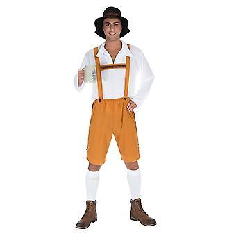 Bavarian costume lederhosen mens costume