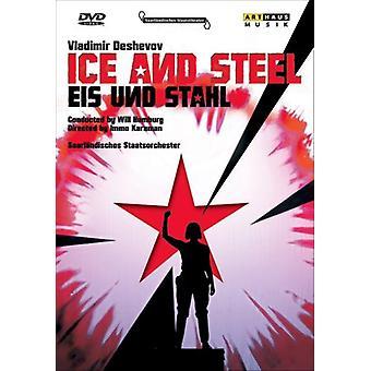 Ice & Steel [DVD] USA import
