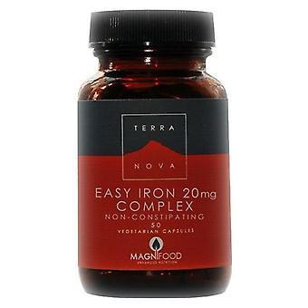 Terranova Bisglycinate Iron 20 mg complex vegetable capsules