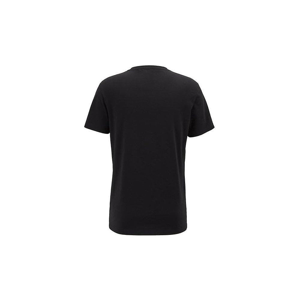 Hugo Boss Leisure Wear Hugo Boss Mens Black Regular Fit UV Protected T-Shirt