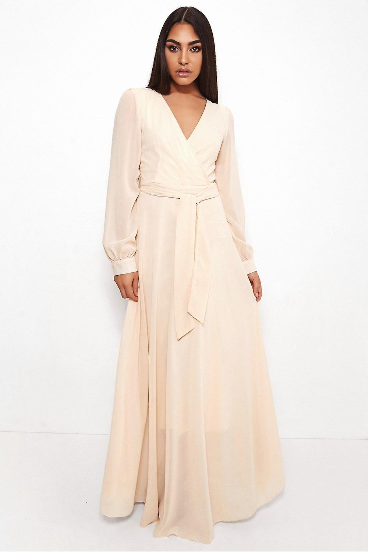 Bella Chiffon Maxi Dress