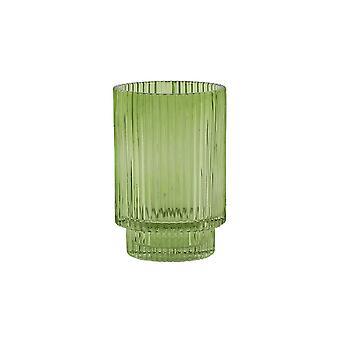 Light & Living Tealight 8.5x13cm - Philon Glass Green