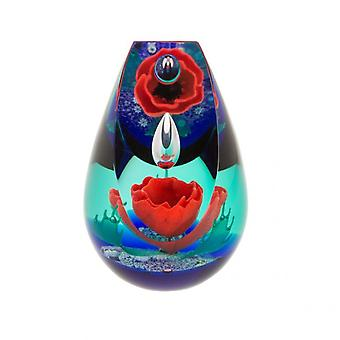Caithness Glass aika heijastaa paperweight Limited Edition