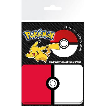 Pokemon Pokeball Gepäck Kartenhalter