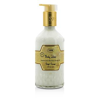 Body lotion ginger orange (with pump) 192225 200ml/7oz