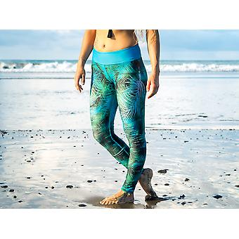Lange Leggings Eco | Dyp jungel