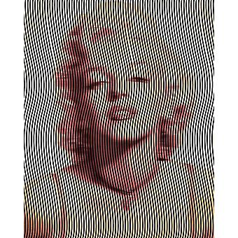 Optic Starlet Art Print Rufus Coltrane Marilyn Monroe Klein formaat