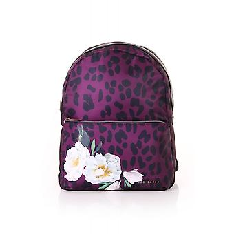 Ted Baker Womens Accessories Sharlyy Wilderness Nylon Zipped Backpack