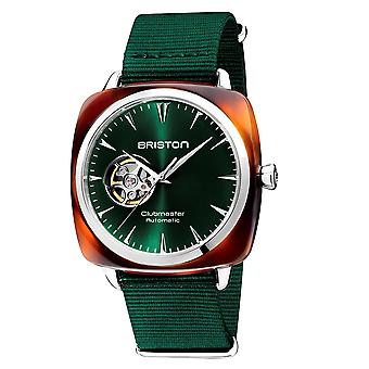 Briston 19740.SA.TI.10.NBG Clubmaster Iconic Green Automatic Wristwatch