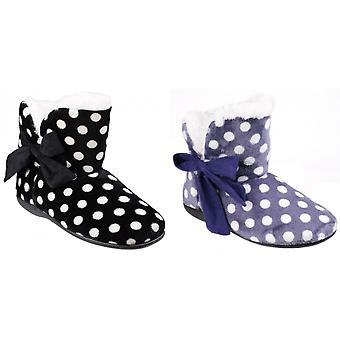 Mirak Womens/dames Cleremont Polka Dot Slipper chaussons