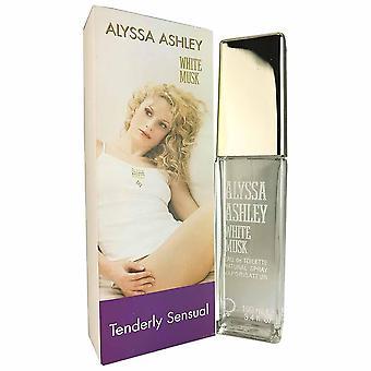 Musk white for women by alyssa ashley 3.4 oz eau de toilette spray