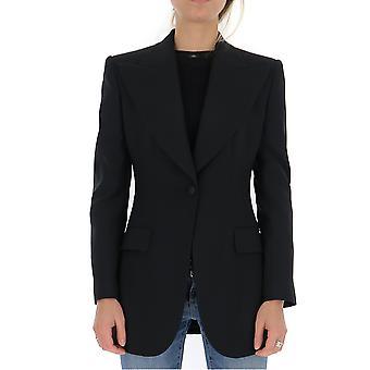 Dolce E Gabbana F29cutfucegn0000 Frauen's schwarze Baumwolle Blazer
