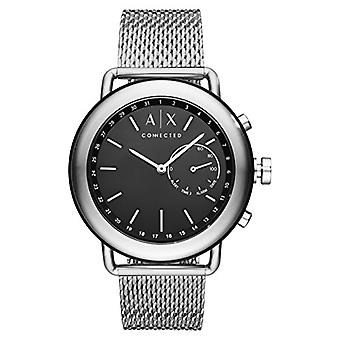 Armani Exchange Mens Quartz Analog Watch with stainless steel band AXT1020