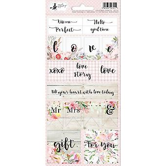Piatek13 - Sticker sheet Love in Bloom 02 P13-255 10.5x23 cm