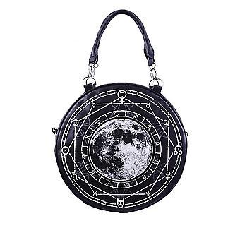 Restyle - lunar round bag - black