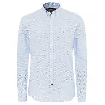 Tommy Hilfiger Slim Fit Micro Print Shirt
