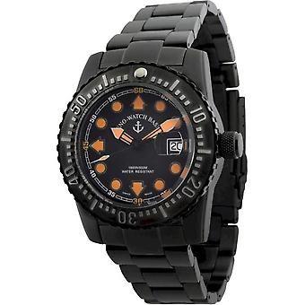 Zeno-Watch - Wristwatch - Men - Airplane Diver 6349-3-bk-a15M