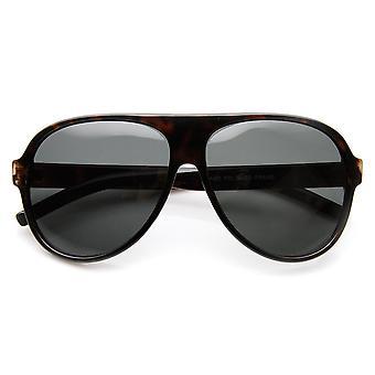 Gepolariseerde lens Classic Tear Drop kunststof Aviator zonnebril